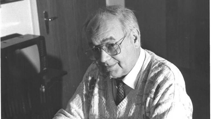 Bruno Saner (1928-1993) galt in Mümliswil als Garant für gute Fasnachts-Verse.
