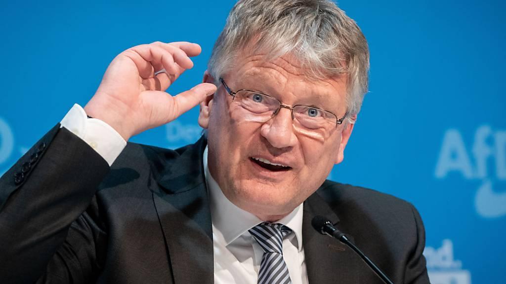 ARCHIV - Der langjährige AfD-Co-Vorsitzende Jörg Meuthen will bei der Neuwahl des Parteivorstandes im Dezember nicht mehr für den Spitzenposten kandidieren. Foto: Kay Nietfeld/dpa