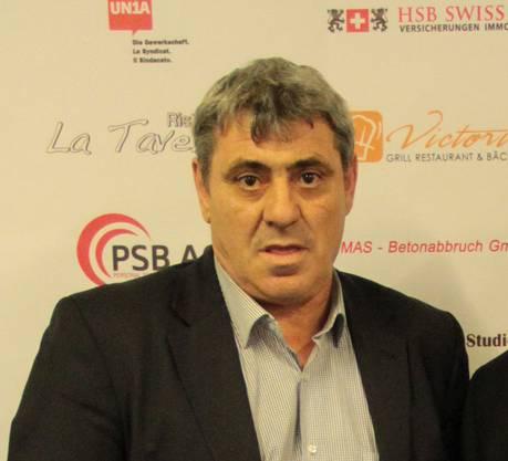 Der ehemalige Präsident des kosovarischen Fussballverbands Fadil Vokrri.