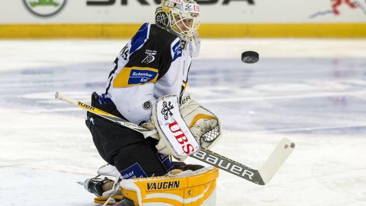 Torhüter Elvis Merzlikins hatte massgeblichen Anteil am Finaleinzug des HC Lugano
