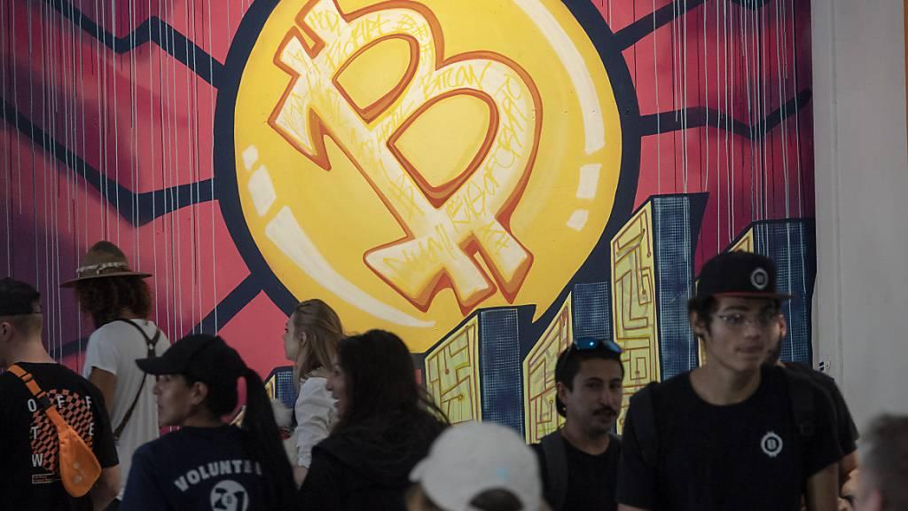Zuletzt wieder mit deutlichem Aufwind: Der Bitcoin kostet wieder fast 40'000 Dollar. (Archivbild)