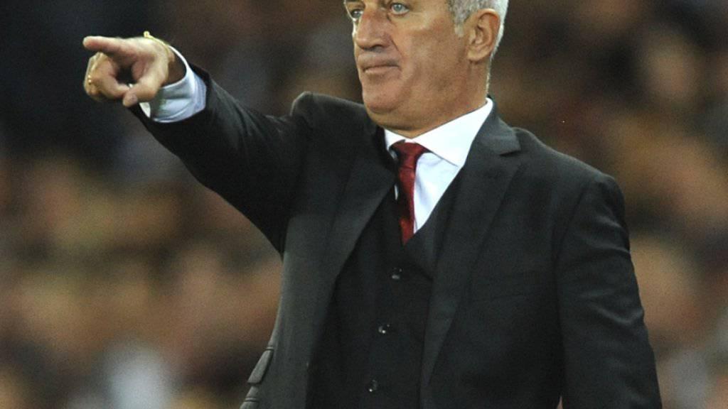 Vladimir Petkovic hat im Spiel gegen England trotz neuer Taktik nur wenig zu korrigieren
