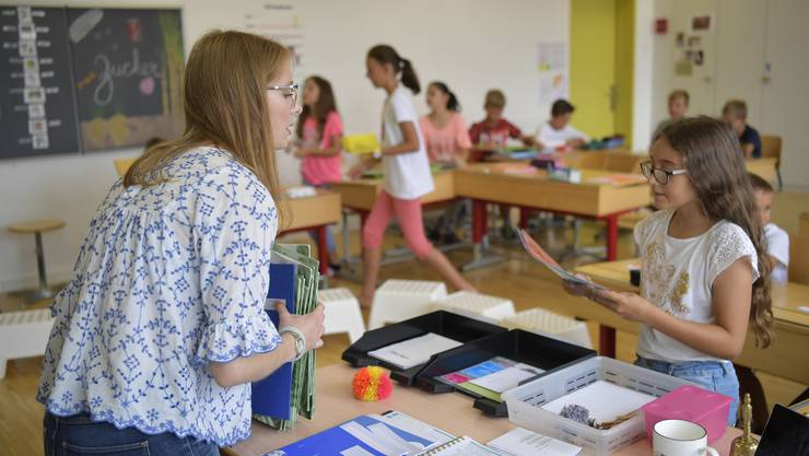 Seit diesem Sommer gilt die spezielle Förderung in allen Schulen im Kanton Solothurn. Lehrer der Regelschule sind somit für Hochbegabte aber auch für Kinder mit Lernschwierigkeiten zuständig. Symbolbild/Archiv
