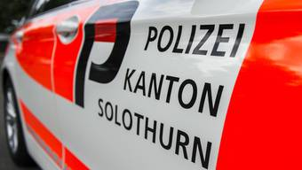 Die Kantonspolizei Solothurn konnte die Täter auf frischer Tat ertappen. (Archiv)