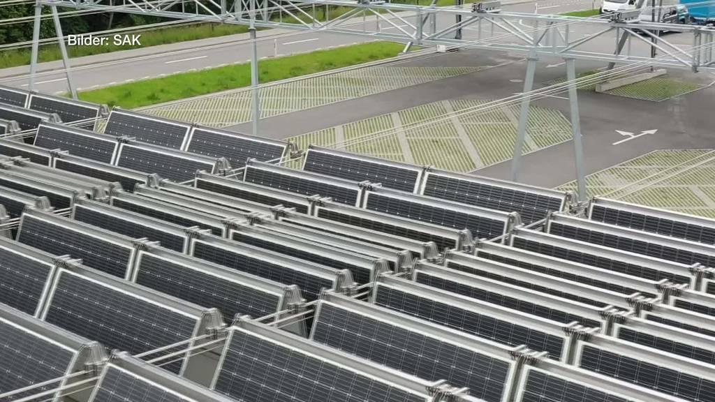 Solardach produziert Strom für 70 Haushalte