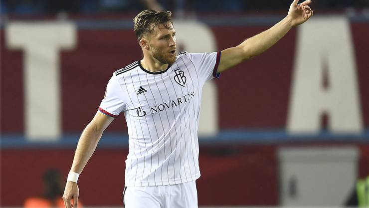Der Torschütze zum 1:0 gegen Trabzonspor: Silvan Widmer.