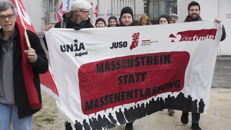 Massenstreik statt Massenentlassung