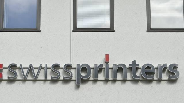 Nach der Übernahme von Swissprinters durch Neidhart + Schön werden die 45 Angestellten weiterbeschäftigt (Archiv)