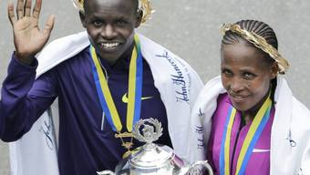 Afrikanische Sieger am Boston-Marathon