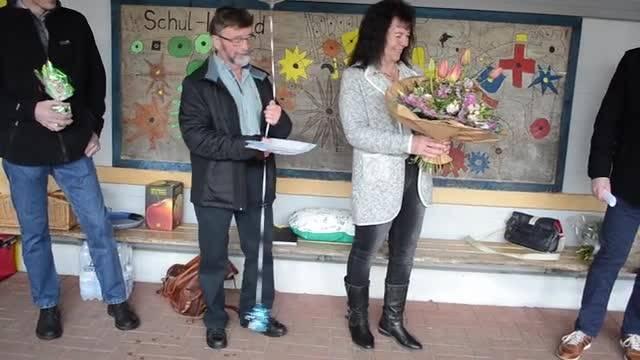 Abschiedsfest für das Abwartepaar Sämi und Erika Keller in Mandach.