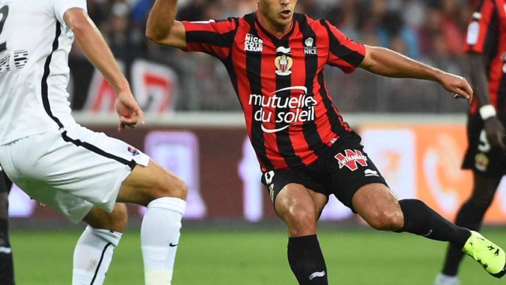Hatem Ben Arfa (rechts) erzielte für Nice in der letzten  Saison in 34 Liga-Spielen 17 Tore