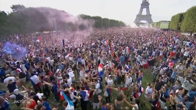 Jetzt wird gefeiert: Frankreich ist Weltmeister