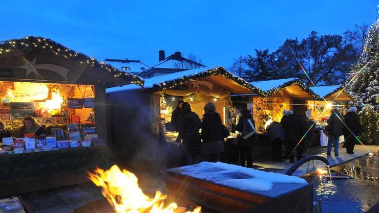 Ein stimmungsvoller Adventsmarkt erwartet auch heuer die Besucher im Klostergarten.