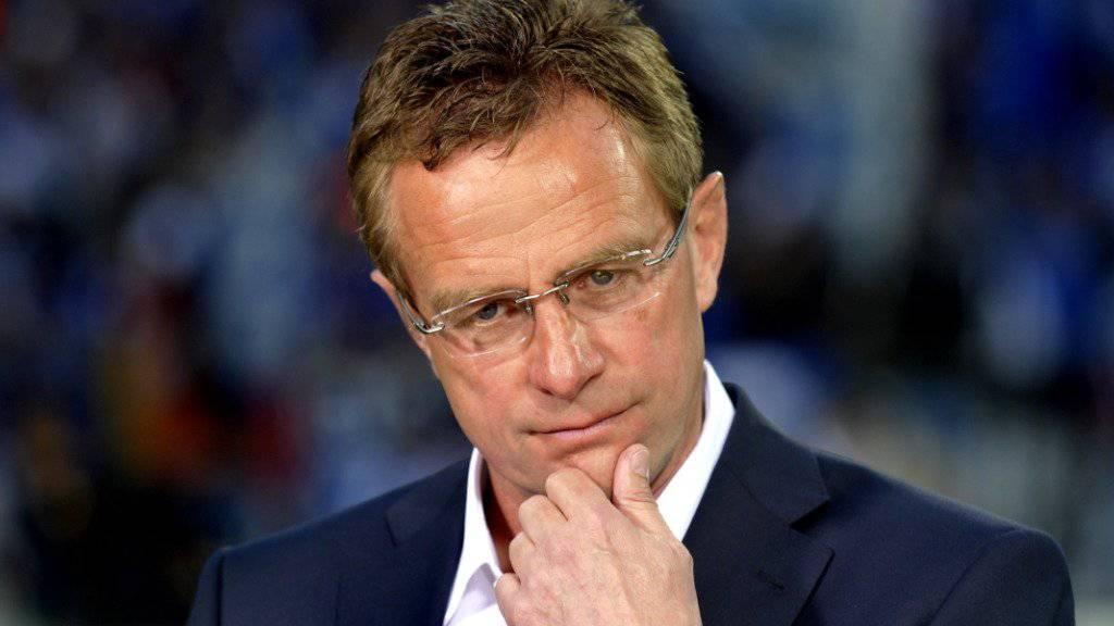 Leipzigs Sportdirektor Ralf Rangnick fühlt sich extrem wohl in seinem Tätigkeitsfeld