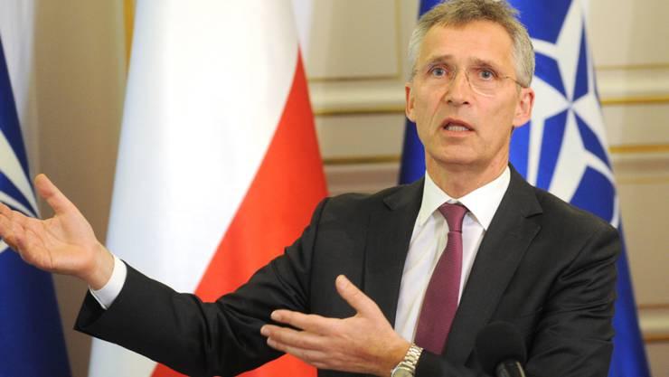 NATO-Generalsekretär Jens Stoltenberg hat in einer Rede für bessere Beziehungen zu Russland plädiert.