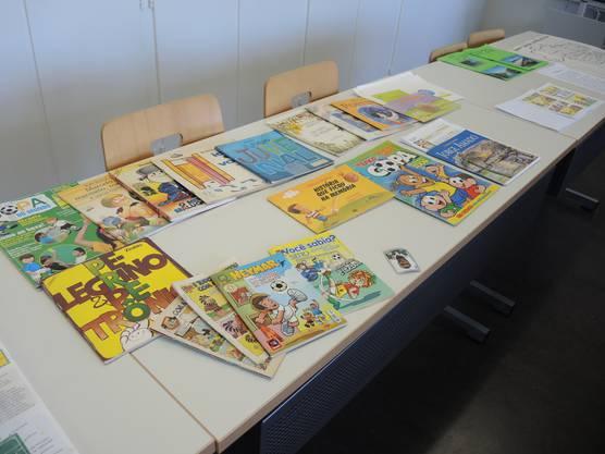 Viele brasilianische Comics über Fussball