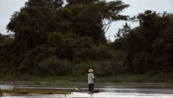 In Bolivien sind wegen starker Regenfälle fast die Hälfte der Gemeinden im indigenen Naturschutzgebiet Tipnis überflutet worden. (Symbolbild)