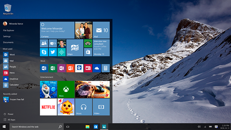 Vernetzt: Windows 10 Umstieg schneller als je zuvor