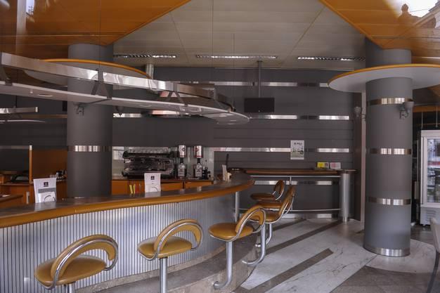 Das kultige Interieur mit den drei Schneckenbars ist immer noch ungenutzt.