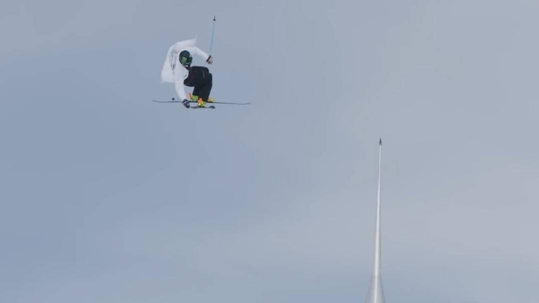 Freeskier stellt Höhen-Weltrekord auf