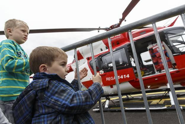 Vieleicht zukünftige Helikopterpiloten