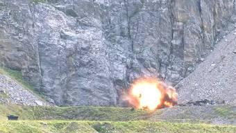 Tonnenweise Munitionsreste: Am Säntis wird aufgeräumt.