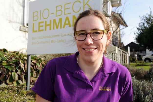 Anna Lehmann, Geschäftsleiterin Bio Beck Lehmann. 31.01.2013