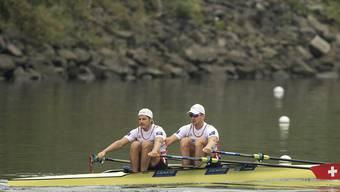 Für Roman Röösli (links) und Barnabé Delarze endeten die Weltmeisterschaften mit einer Enttäuschung