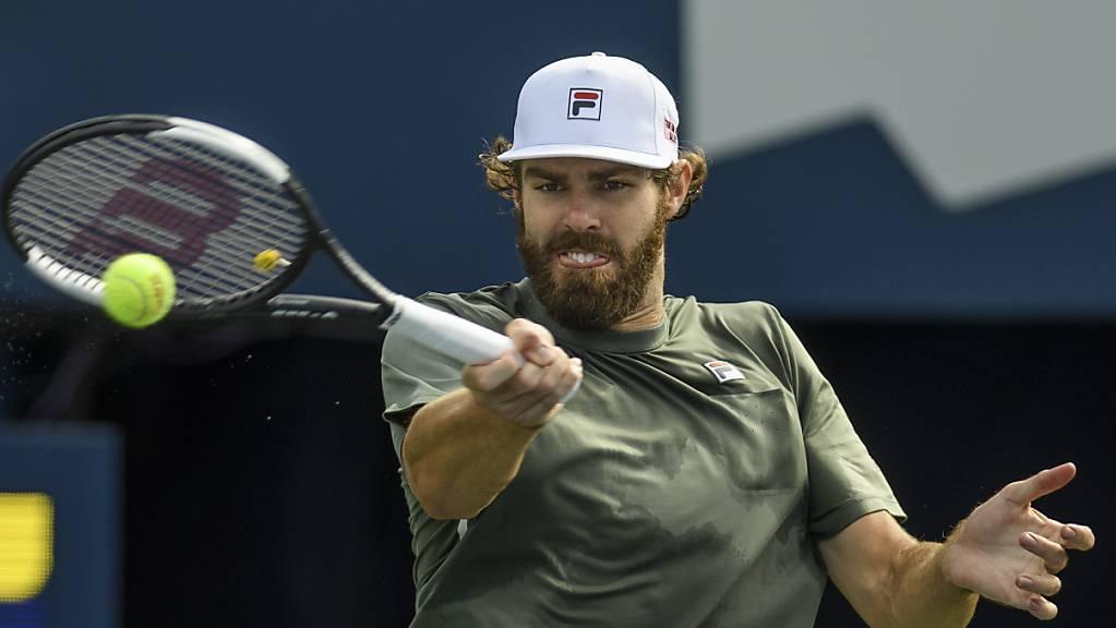 Reilly Opelka feierte gegen den French-Open-Finalisten Stefanos Tsitsipas seinen ersten Erfolg gegen einen Spieler aus den Top 5.