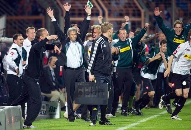 Der Traditionsverein erreichte im Relegations-Rückspiel in Bochum ein 1:1 und sicherte sich nach dem 1:0 im Hinspiel den Klassenerhalt.