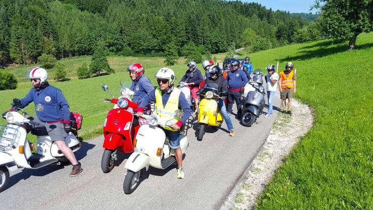Ausflug des Vespaio-Clubs Gerlafingen