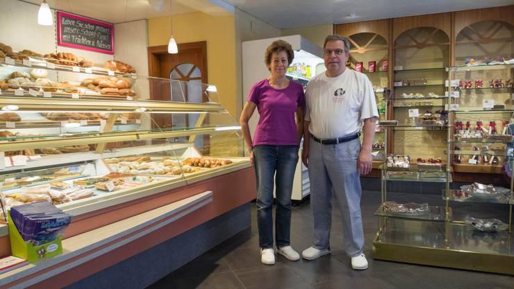 Willi und Bernadette Moosberger führen ihre Bäckerei und Konditorei beim Bahnhof seit fast 29 Jahren.