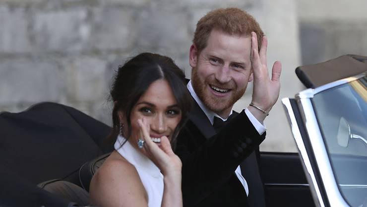 Prinz Harry und seine Meghan werden Eltern. (Archiv)