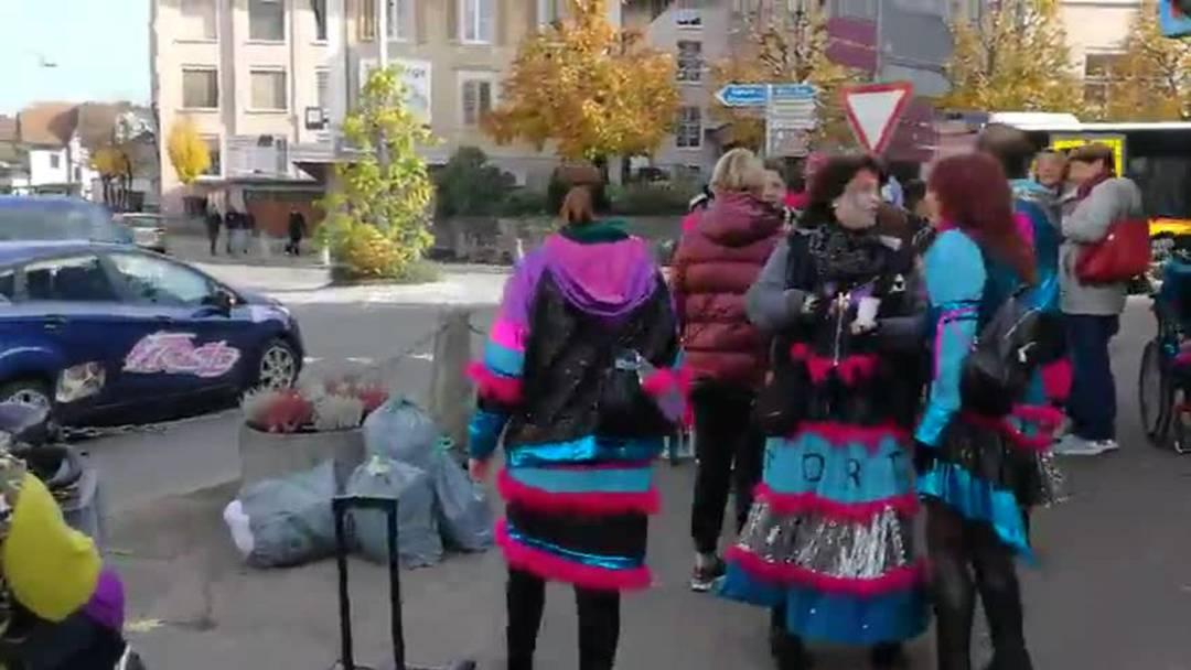Guggenmusik Nordfäger Fasnachtsanfang 2019