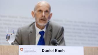 Der Schweizer Kapitän durch die Corona-Epidemie: Daniel Koch.