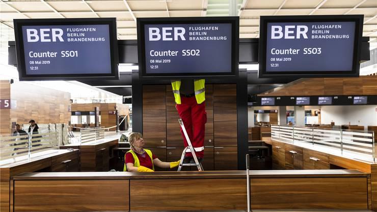 Bauarbeiten am neuen Berliner Grossflughafen: Ein Drama ohne absehbares Ende. imago images / ZUMA Press
