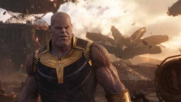 Thanos, ein allmächtiger Titan, ist der eigentliche Star der Avengers-Filme.