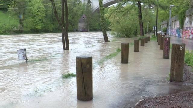 Akute Hochwasser-Gefahr