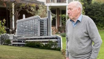Hans Kummer setzt sich für das Bruderholzspital ein
