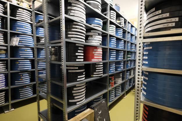 Das Archiv ist auf 1000 Filmkopien angewachsen.