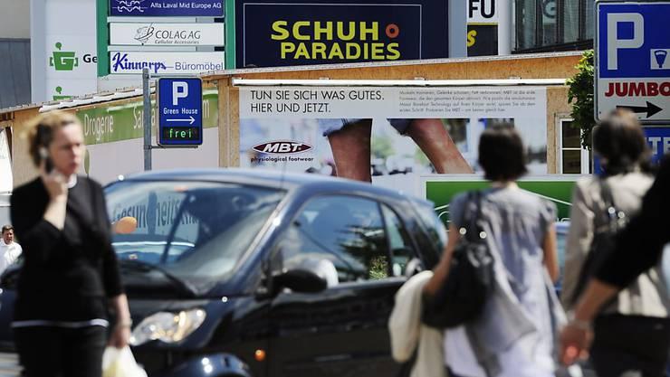 Positive Impulse für das Wirtschaftswachstum in der Schweiz gingen im zweiten Quartal vom Konsum aus. (Archiv)