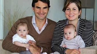 Roger Federer und Familie