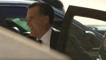 Der ehemalige Präsidentschaftskandidat Mitt Romney trifft beim Weissen Haus ein