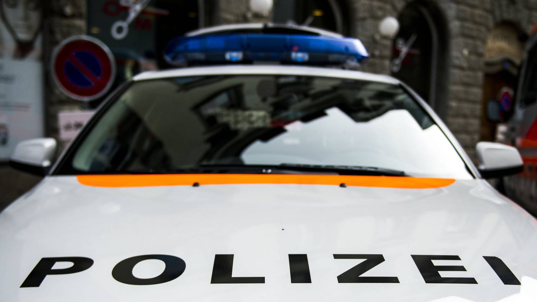 Die Stadtpolizei fand bei einer Verkehrskontrolle eine Waffe beim Fahrer.