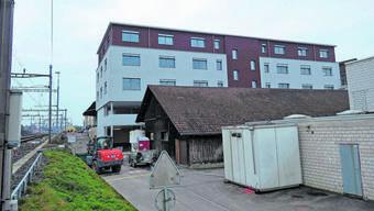 Im Zeitplan: Neues Fremo-Gebäude nimmt ab Dezember Verwaltungsabteilungen und die Regionalpolizei auf.