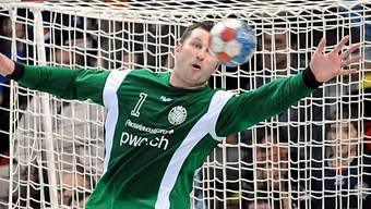 Goalie Vaskevicius war den Kadetten ein sicherer Rückhalt
