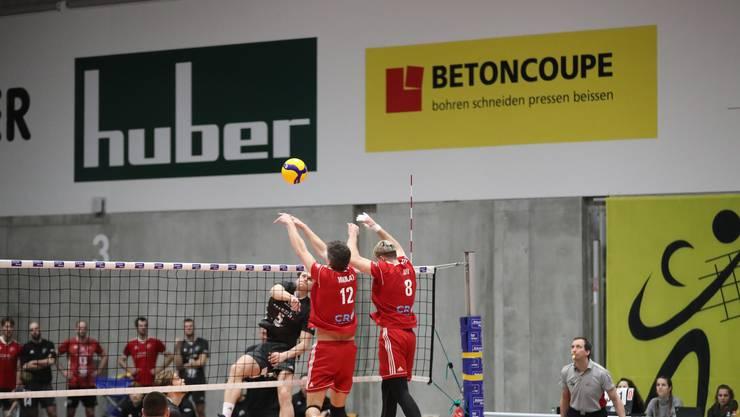 Ohne Satzverlust zum Sieg: Die NLA-Volleyballer von Schönenwerd lassen gegen den Tabellenletzten Lutry-Lavaux nichts anbrennen.