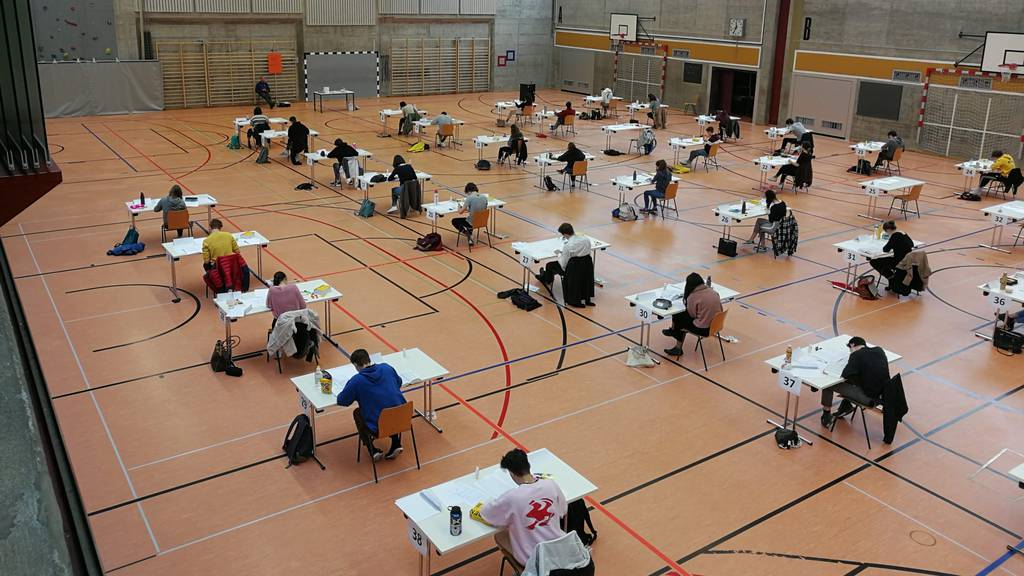 So wie hier im Kanton Glarus werden heute auch im Kanton Schwyz Maturaprüfungen durchgeführt.