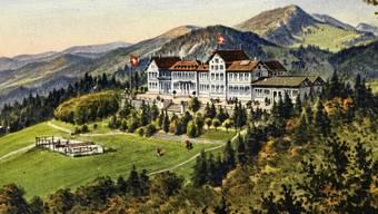 Alte Postkarten vom Weissenstein. Auf 15.6.1919 datiert.