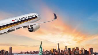 Der neu längste Flug führt über den Pazifik und wird eine Länge von rund 15'335 Kilometer haben.